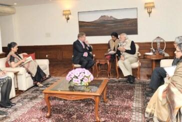 वैक्सीन एलायंस गवी के मुख्य कार्यकारी अधिकारी, डॉ सेठ बर्कली ने प्रधानमंत्री से भेंट की