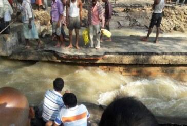 जनता बाढ़ से पस्त …नेता जी सुर संध्या में मस्त