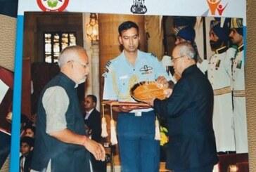 राजीव गांधी मानव सेवा पुरस्कार से नवाजे गए देवेश,राष्ट्रपति ने किया सम्मानित