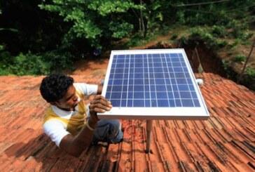 सौर्य उर्जा से जगमग होंगे गांव