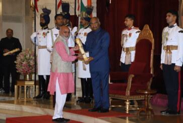 किसानों की आय दोगुनी करने वाले किसान कंवल सिंह चौहान को राष्ट्रपति ने पद्म पुरस्कार से नवाजा