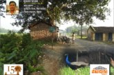 आरण गांव में मोर का दर्शन
