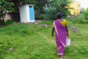 बिना सरकारी मदद गांव को किया खुले में शौच से मुक्त