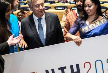 संयुक्त राष्ट्र करेगा यूथ क्लाइमेंट समिटका आयोजन
